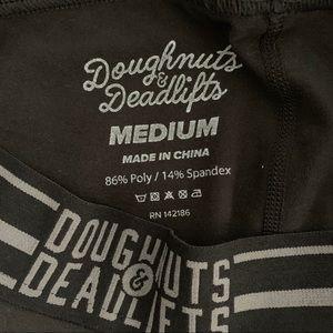Doughnuts & Deadlifts Pants - DNDL leggings